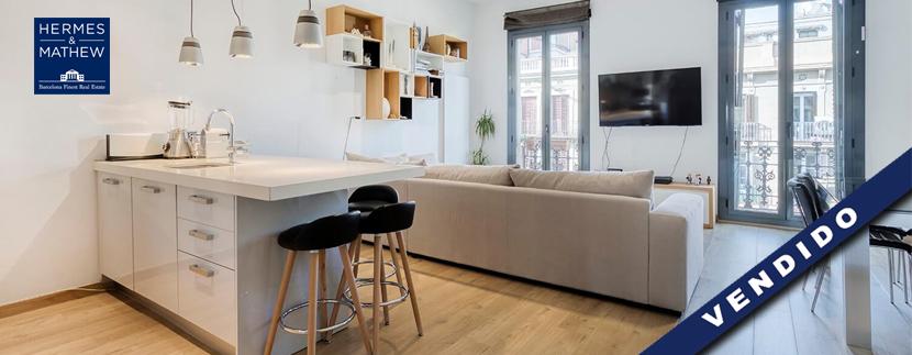 venta de un lujoso piso en Barcelona
